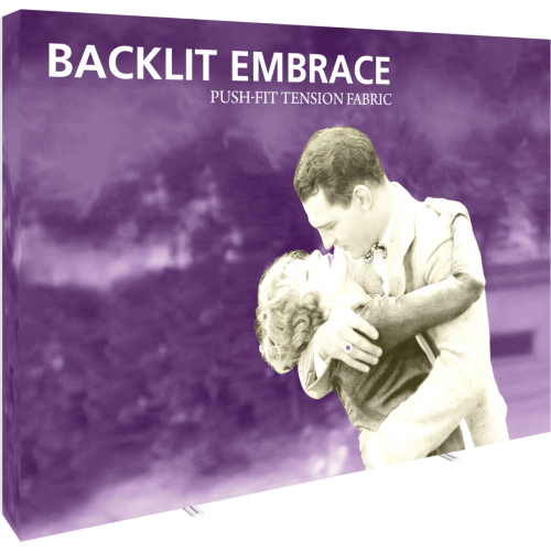 Embrace 10ft Backlit Push-Fit Tension Fabric Display